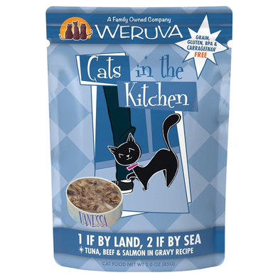 Pouch, Feline Adult - 1 If By Land, 2 If By Sea - 85 g