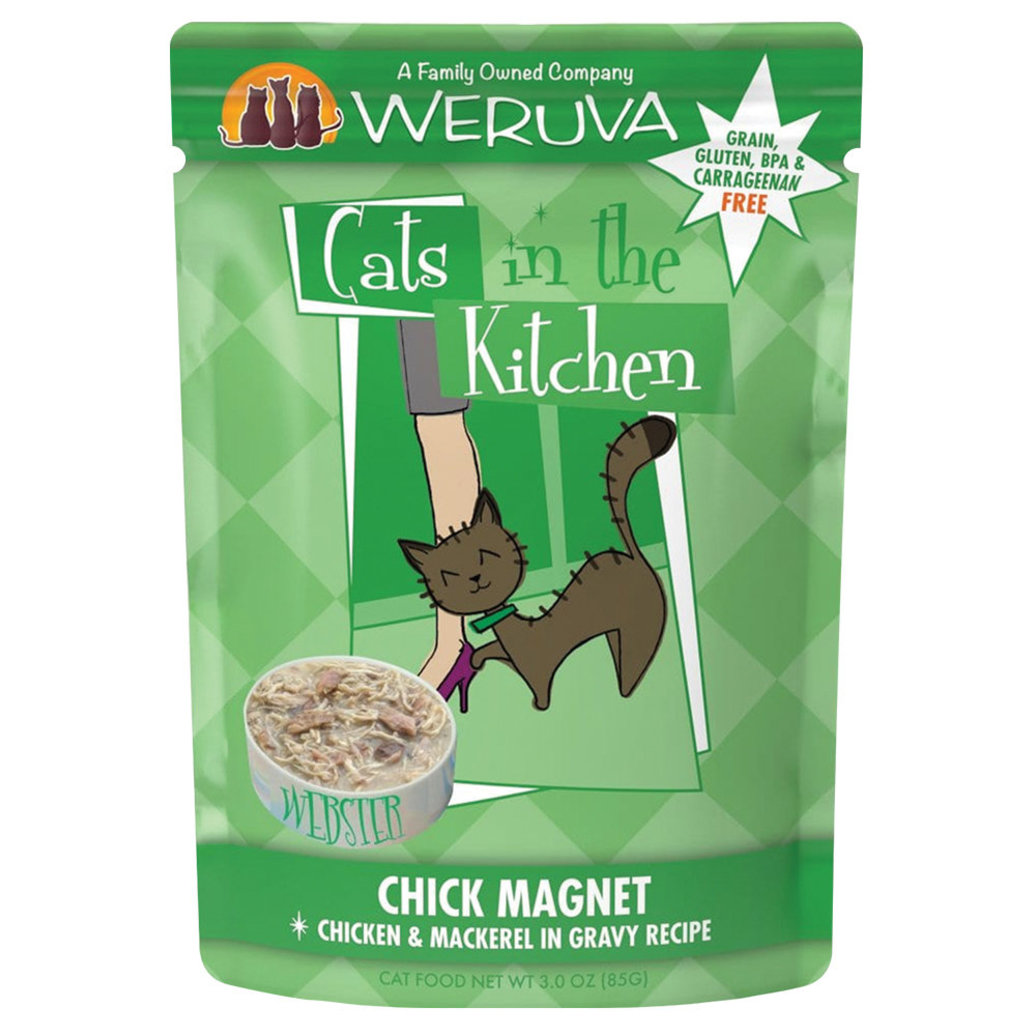 View larger image of Pouch, Feline Adult - Chick Magnet - 85 g