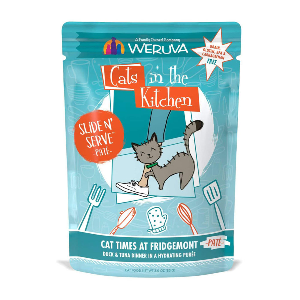 View larger image of Pouch Feline - Cat Times at Fridgemont - Duck & Tuna - 85 g