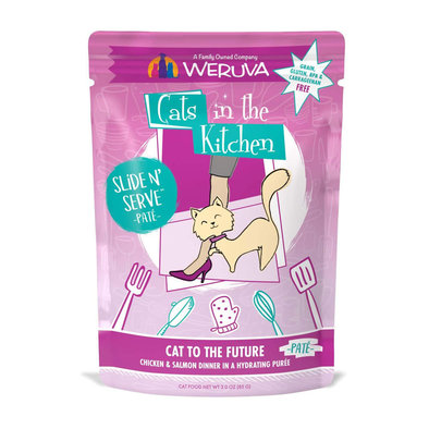 Pouch Feline - Cat To The Future - Chicken & Salmon - 85 g