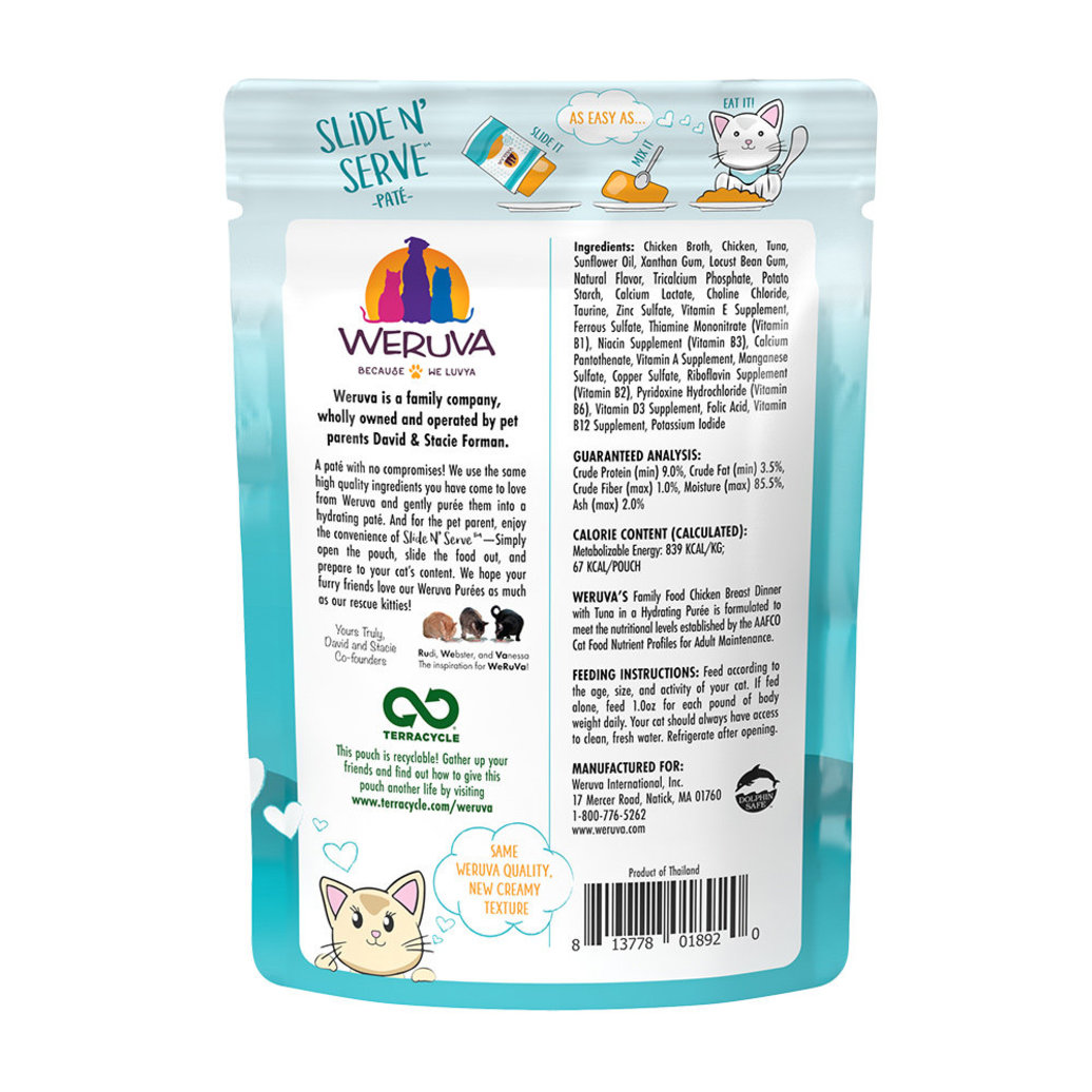 View larger image of Pouch Feline - Family Food - Chicken & Tuna - 80 g