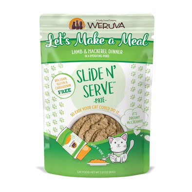 Pouch Feline - Lets Make a Meal - Lamb & Mackeral - 80 g