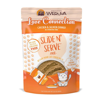 Pouch Feline - Love Connection - Chicken & Salmon- 80 g