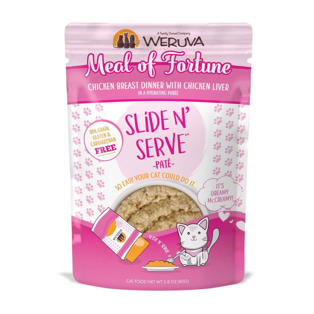 View larger image of Pouch Feline - Meal of Fortune - Chicken Breast & Liver  - 80 g