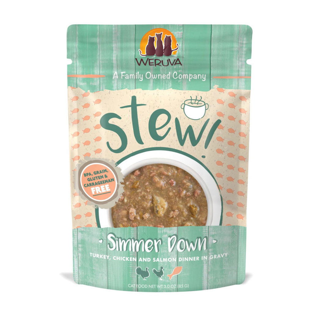 View larger image of Pouch Feline - Simmer Down - Turkey, Chicken & Salmon - 85 g