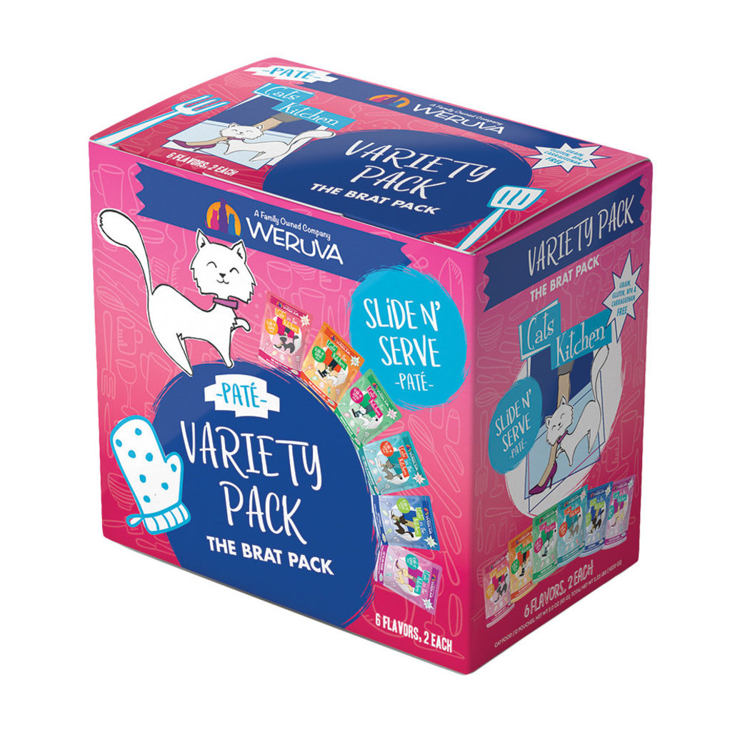 View larger image of Pouch Feline - The Brat Pack - 85 g - 12 pk