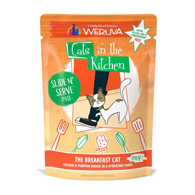 Pouch Feline - The Breakfast Cat - Chicken & Pumpkin - 85 g