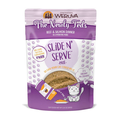 Pouch Feline - The Newly Feds - Beef & Salmon - 80 g