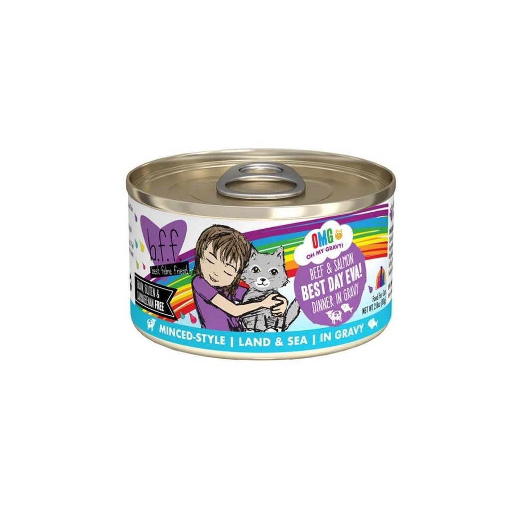 View larger image of Can, Feline Adult - Best Day Eva - Beef & Salmon - 156 g
