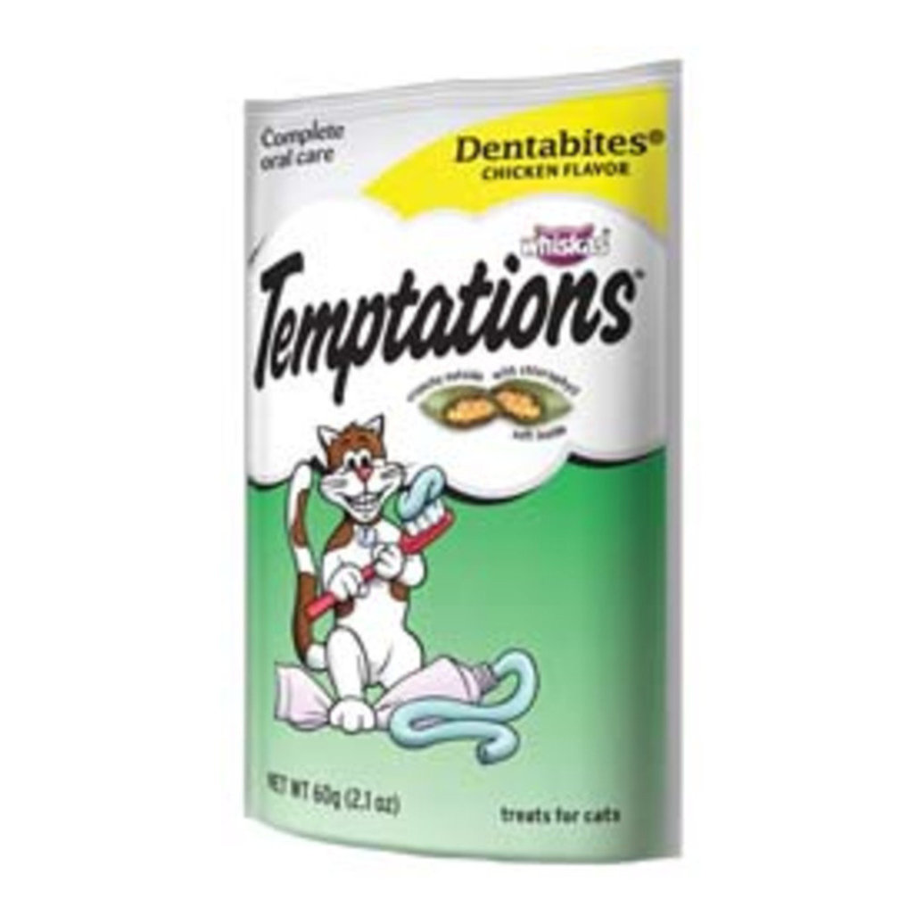 View larger image of Temptations, Dentabites, Tasty Chicken - 60 g