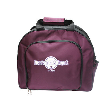 Grooming Bag - Purple - 16.5x13.5x9""