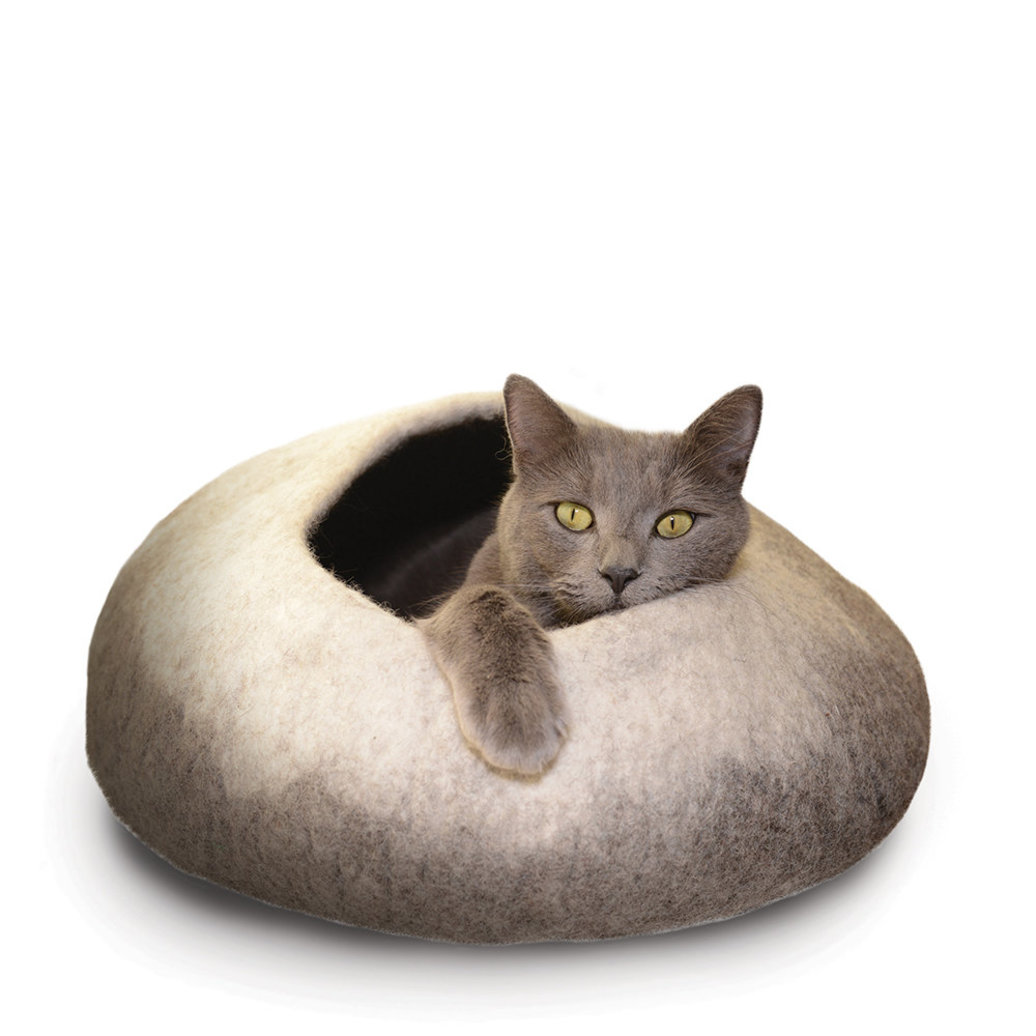 View larger image of Wool Pet Cave - Ombre/Natural