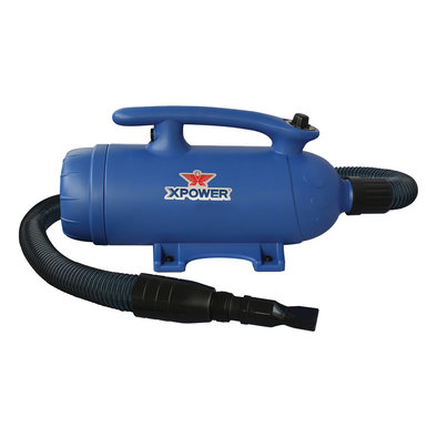 Xpower Canada, Super Tub Pro Force Dryer - Blue