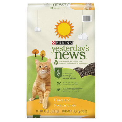 Paper Cat Litter, Unscented Original Formula