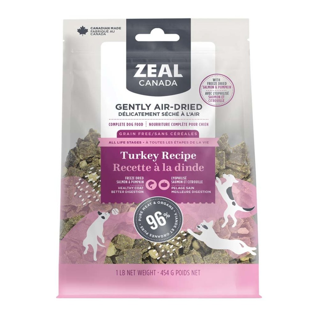 View larger image of Adult - Air Dried - Turkey with Freeze Dried Pumpkin & Salmon
