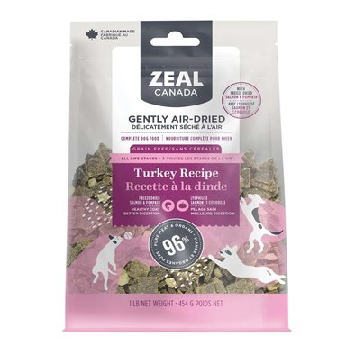 Adult - Air Dried - Turkey with Freeze Dried Pumpkin & Salmon