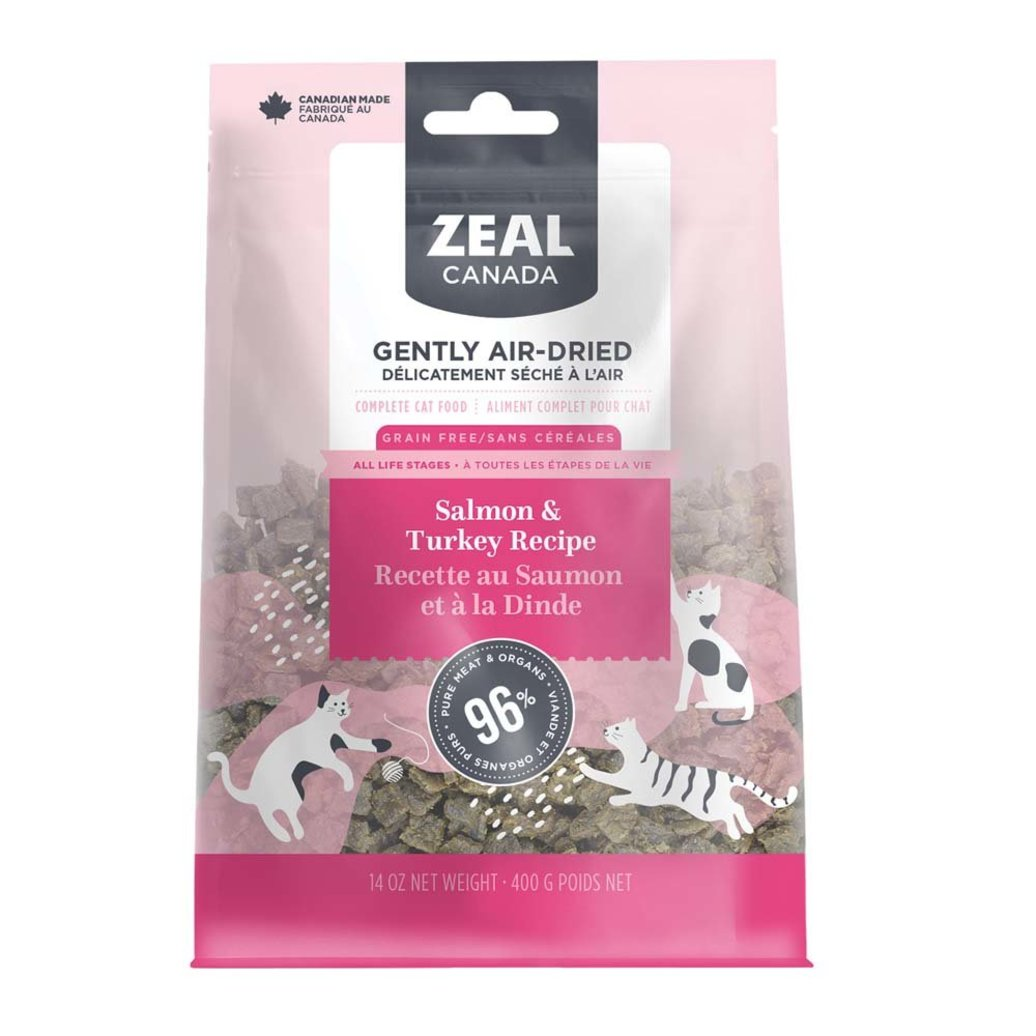 View larger image of Feline Adult - Air Dried - Salmon & Turkey - 14 oz