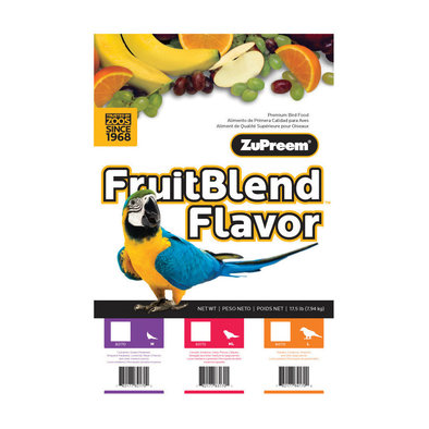 Fruit Blend, Medium Pellet