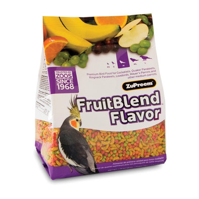 Fruitblend with Natural Fruit Flavours, Cockatiel - 2 lb