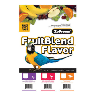 Fruitblend with Natural Fruit Flavours, Parrot & Conure